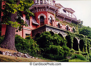 La mansión Harry Packer jim thorpe Pennsylvania