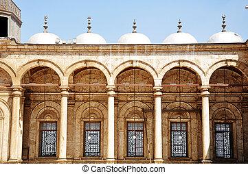 La marca de una mezquita siria
