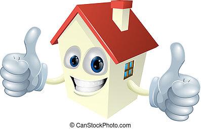 La mascota de la casa Cartoon