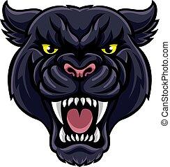 La mascota de la pantera negra
