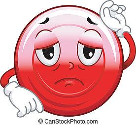La mascota de las células rojas