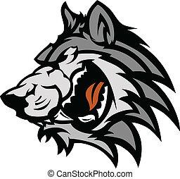 La mascota de Lobo