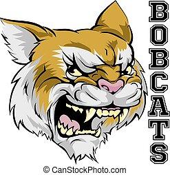 La mascota de los Bobcats