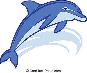 La mascota de los delfines