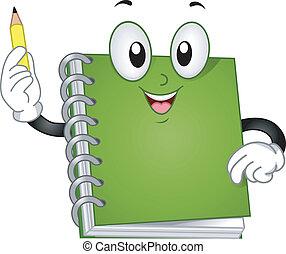 La mascota del cuaderno
