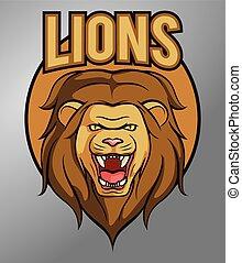 La mascota del león