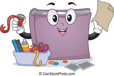 La mascota del libro