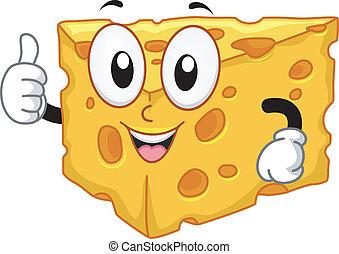 La mascota del queso