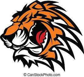 La mascota del tigre
