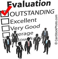 La mejor evaluación de recursos humanos