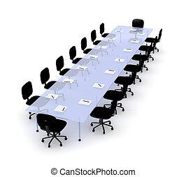 La mesa de conferencias 2