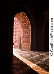 La mezquita Taj Mahal