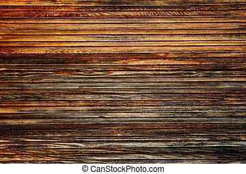 La mugre asea textura de madera