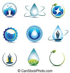 La naturaleza y los símbolos de la salud