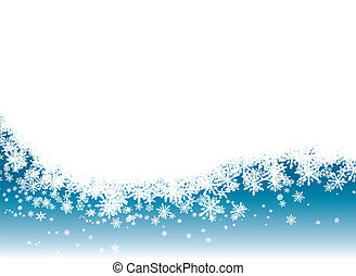 La nieve revela