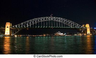 La noche del puente de Sydney