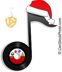 La nota de los viejos para la música navideña 1