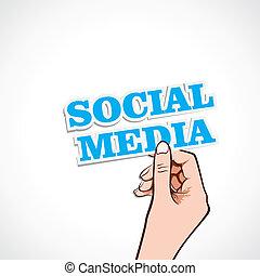 La palabra de los medios sociales