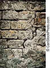 La pared de piedra