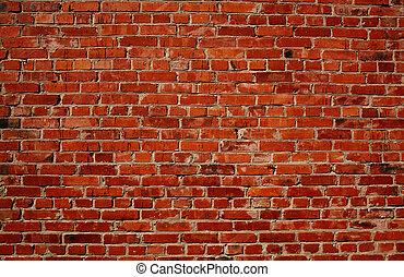 La pared roja