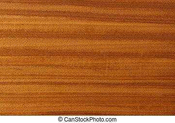 La pintura de madera, caoba.