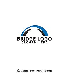 La plantilla de icono del Puente