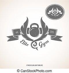 La plantilla del logotipo adecuado.