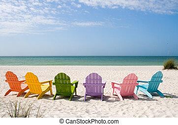 La playa de verano