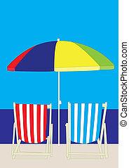 La playa del sillón