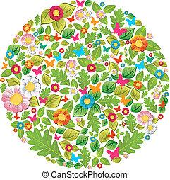 La primavera y el círculo de verano
