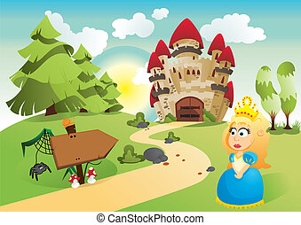 La princesa y su reino