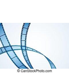 La raya del rollo de cine