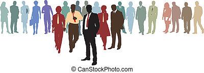 La red de negocios de la gente