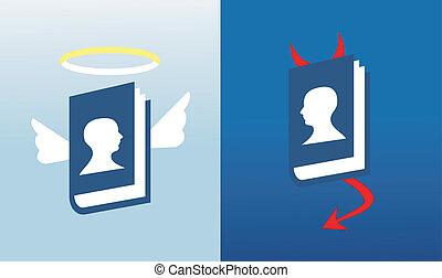 La red mundial de medios sociales se basa en biblias