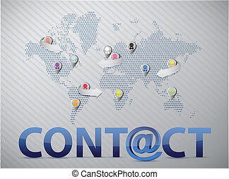 La red social mundial nos contacta