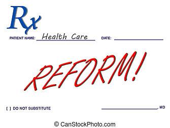 La reforma de la salud