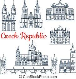 La república Checa tiene puntos de viaje