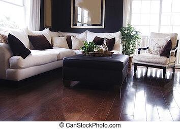 La sala de estar del lujo