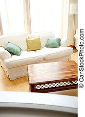 La sala de estar moderna