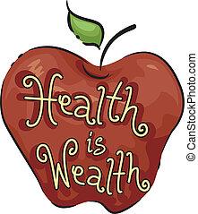 La salud es riqueza
