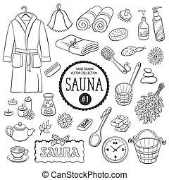 La Sauna colecciona objetos