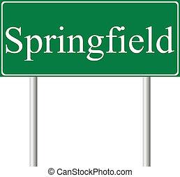 La señal verde de Springfield