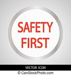 La seguridad es el primer icono.