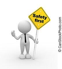 La seguridad primero