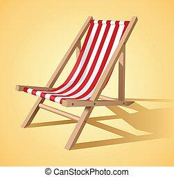 La silla de playa
