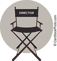 La silla del director de cine