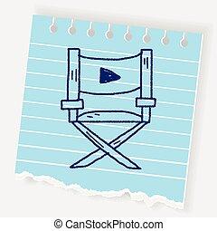 La silla del director