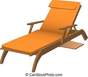 La silla del salón