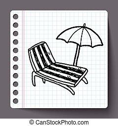 La silla Doodle Lounge