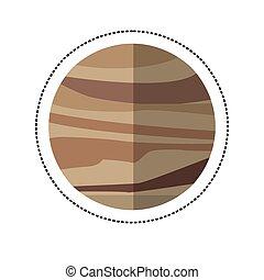 La sombra del planeta Venus